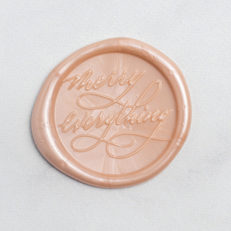 Merry Everything Wax Seals - 25 Pack