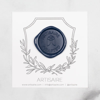 Navy Sealing Wax Swatch