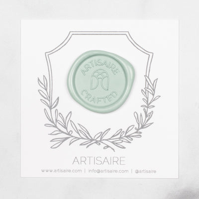 Silver Sage Sealing Wax Swatch