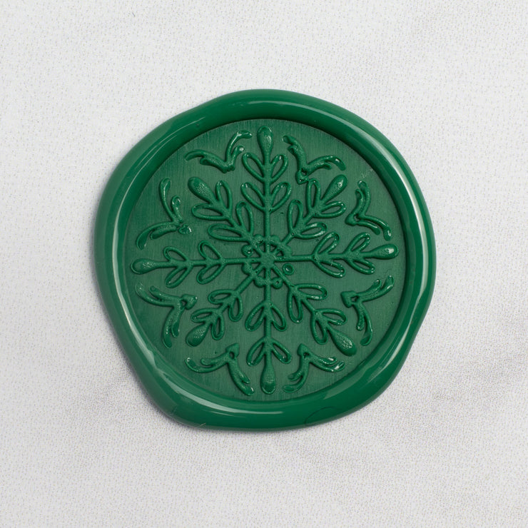 Snowflake Wax Seals - 25 Pack