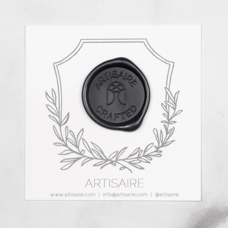 Traditional Black Sealing Wax Swatch