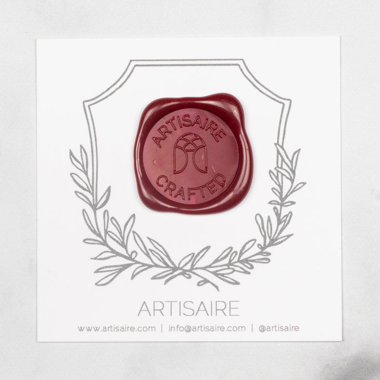 Traditional Red Sealing Wax Swatch