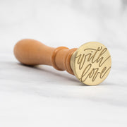 With Love Wax Stamp