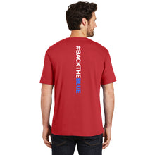 Load image into Gallery viewer, Thin Blue Line Indiana Unisex Red Crew Tee