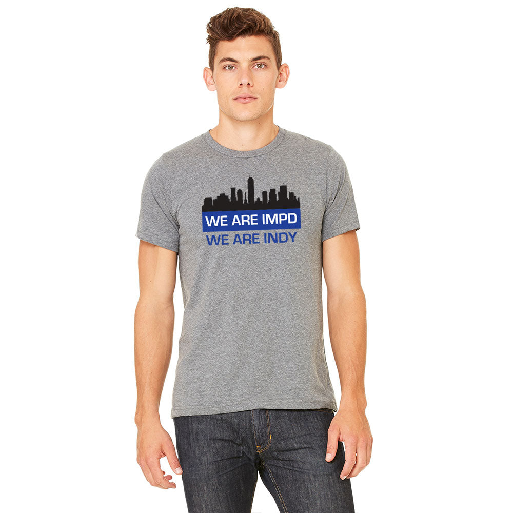 We Are IMPD Heather Grey T-Shirt