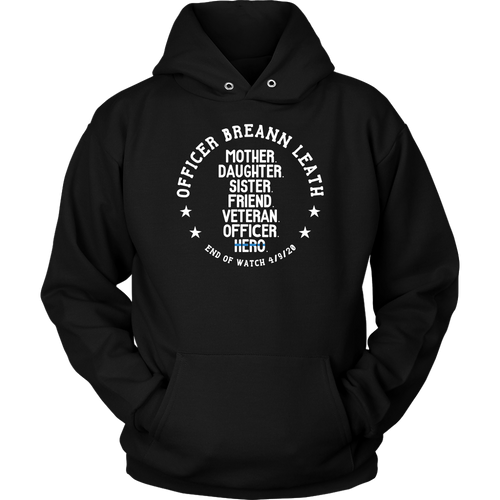 Officer Breann Leath Memorial Hoodie