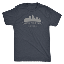 Load image into Gallery viewer, Indy Strong United We Stand Triblend Tee