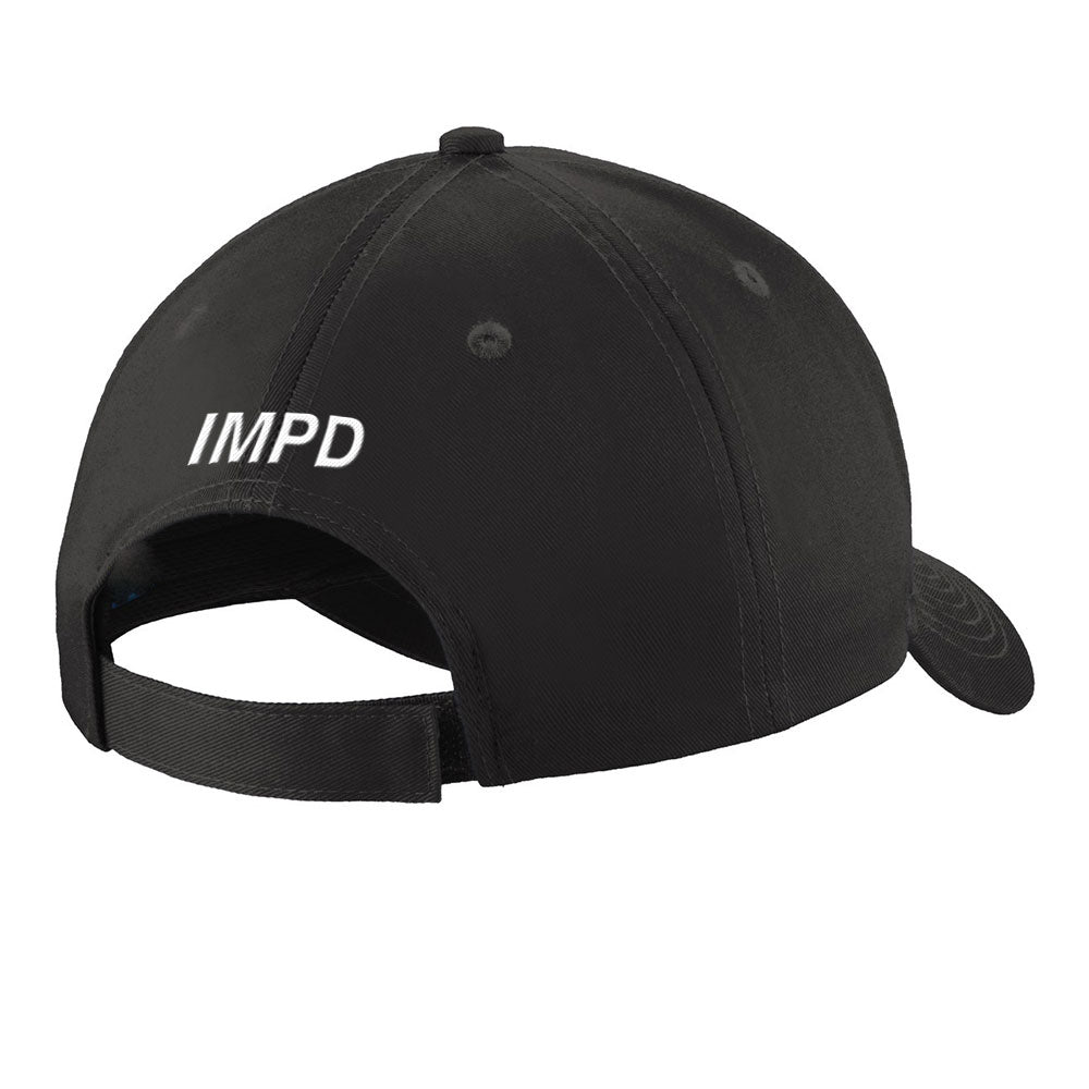 Thin Blue Line Flag IMPD Low Profile Insignia Cap