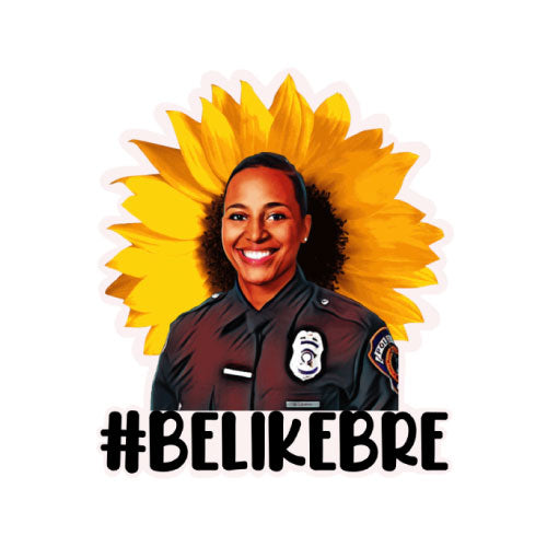 Be Like Bre Sunflower Decal