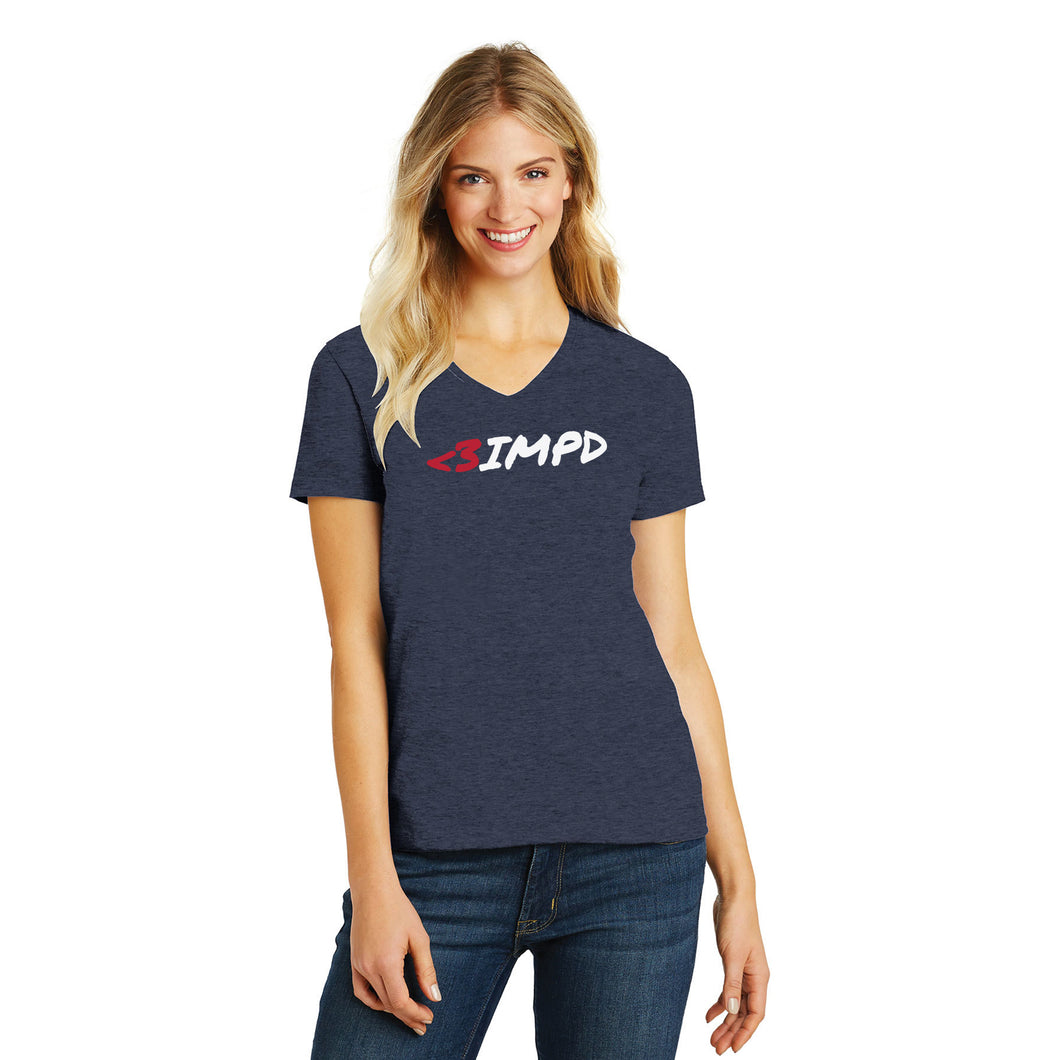 <3IMPD Ladies Perfect Blend V-Neck Tee