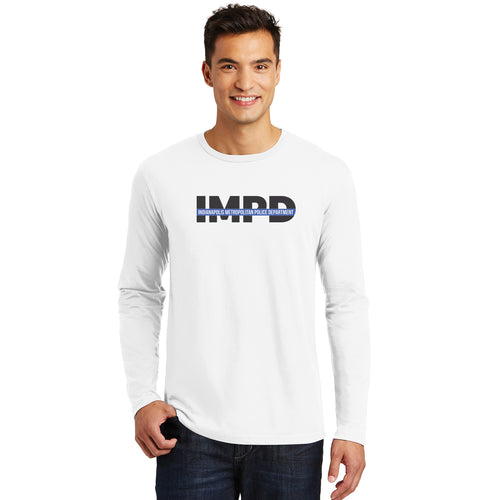 IMPD Thin Blue Line Long Sleeve Tee (LIMITED QUANTITY)
