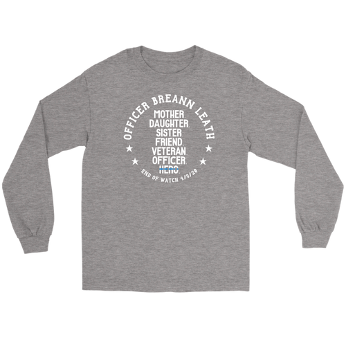 Officer Breann Leath Memorial Long Sleeve T-shirt