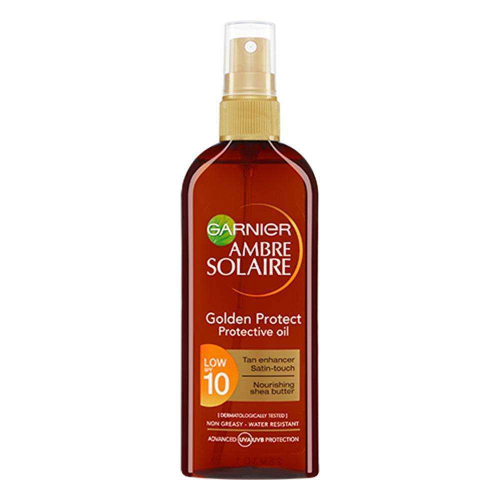 Ambre Solaire Golden Protect Sun Oil Sunscreen Garnier 150 ML 10