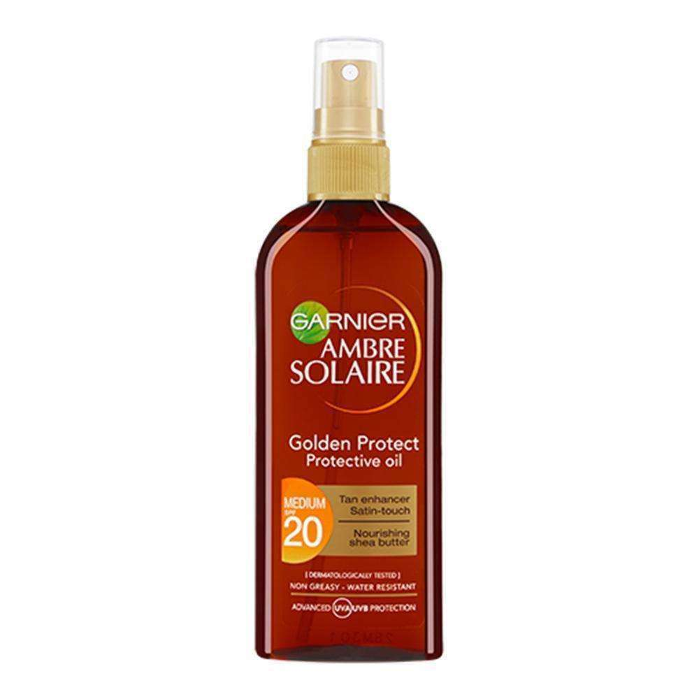 Ambre Solaire Golden Protect Sun Oil Sunscreen Garnier 150 ML 20