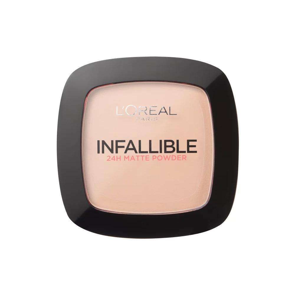 Infallible Compact Powder Foundation (4 Shades) Powder L'Oreal Paris 123 Warm Vanilla