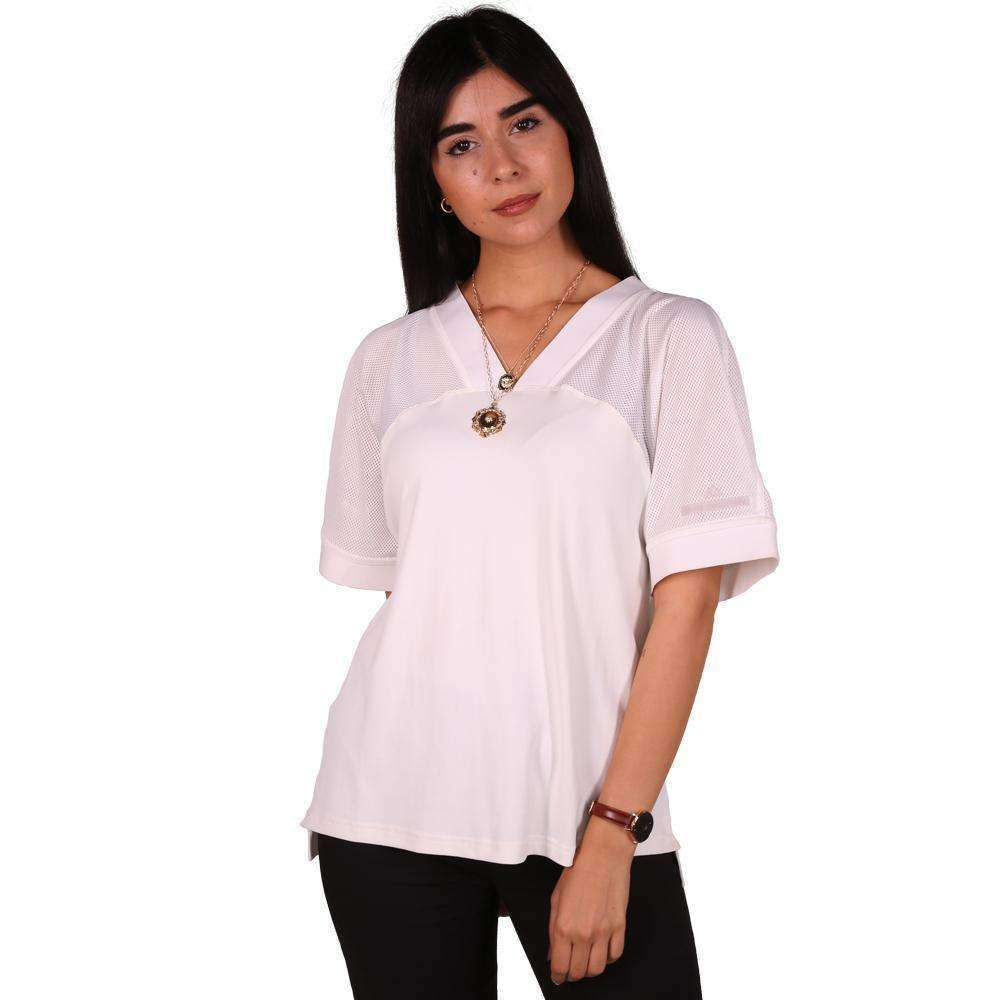 Oversized White Top Top Zeina Makki