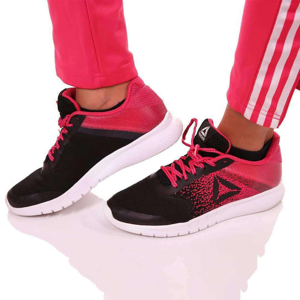 Pink and Black Sport Shoes