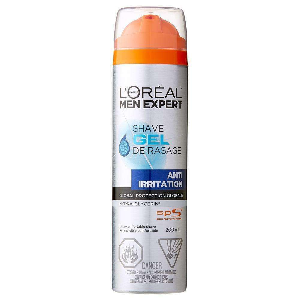 L'Oreal Men Expert - Anti Irritation shaving Gel 200ml Shaving Gel L'Oreal Paris