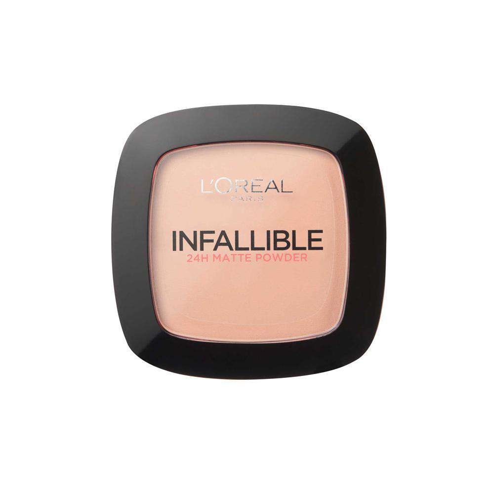 Infallible Compact Powder Foundation (4 Shades) Powder L'Oreal Paris 225 Beige