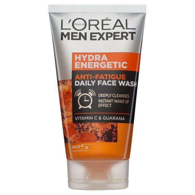 L'Oreal Men Expert- Hydra Energetic Gel Wash 150ml Face Wash L'Oreal Paris
