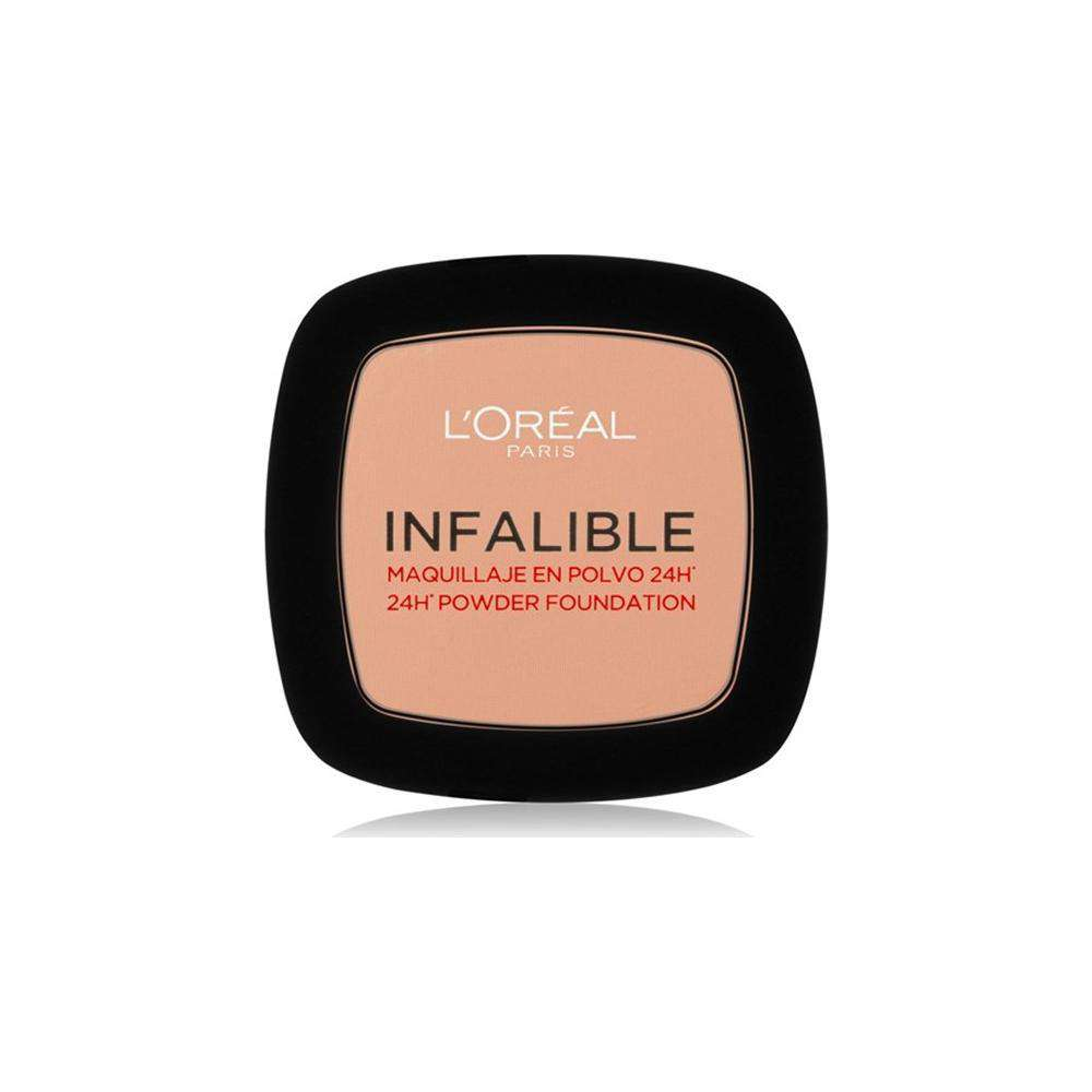 Infallible Compact Powder Foundation (4 Shades) Powder L'Oreal Paris 245 Warm Sand