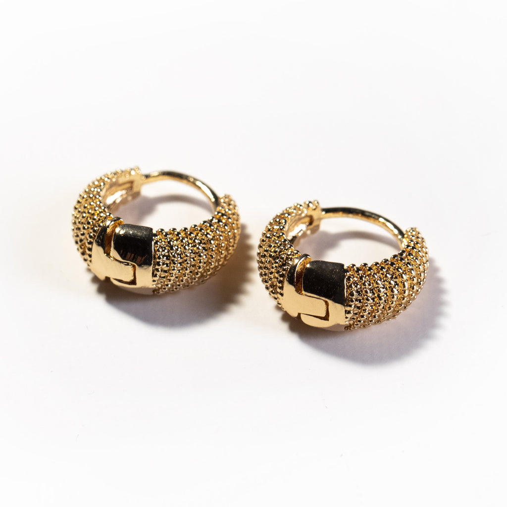 Golden - The Spikes Earrings