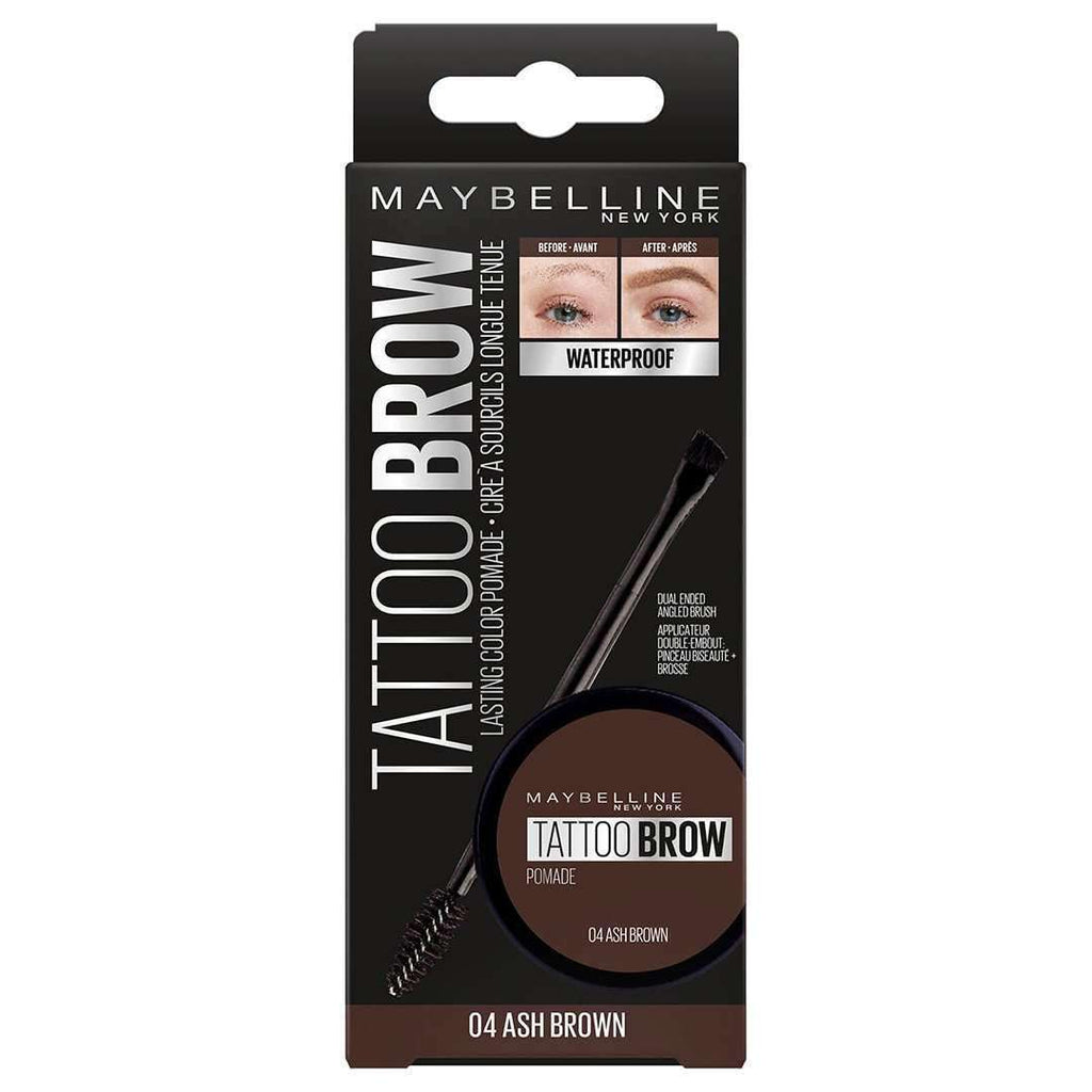 Tattoo Brow Pomade Eyebrows Gel Maybelline New York 05 Dark Brown