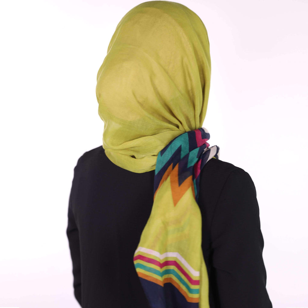Geometric Colorful Scarf