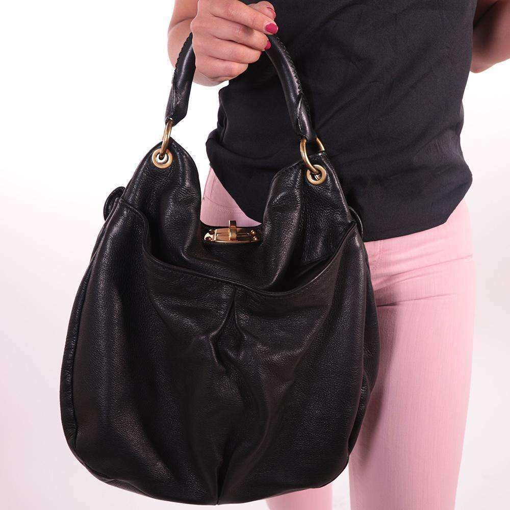 Leather Black Vintage Bag