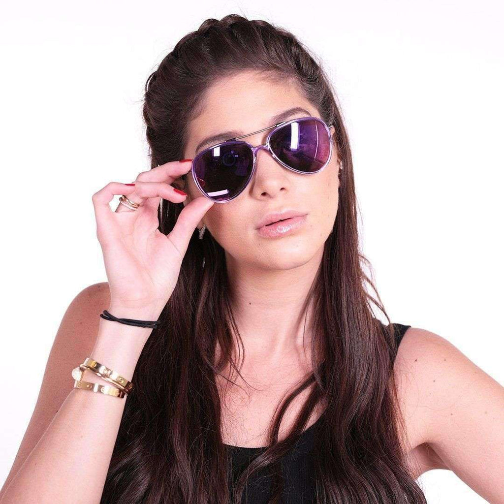 Purple Classic Sunglasses