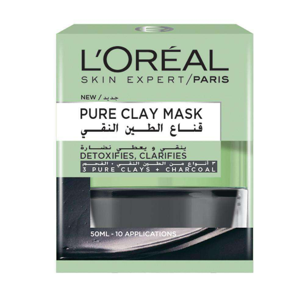 Pure Clay Mask Detoxifying and Clarifying Face Mask L'Oreal Paris