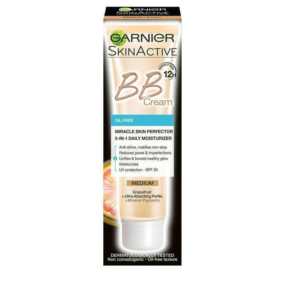 BB Cream Miracle Skin Perfector 5-IN-1 Daily Moisturizer New Formula 12H  Oil Free / Discount - 15%