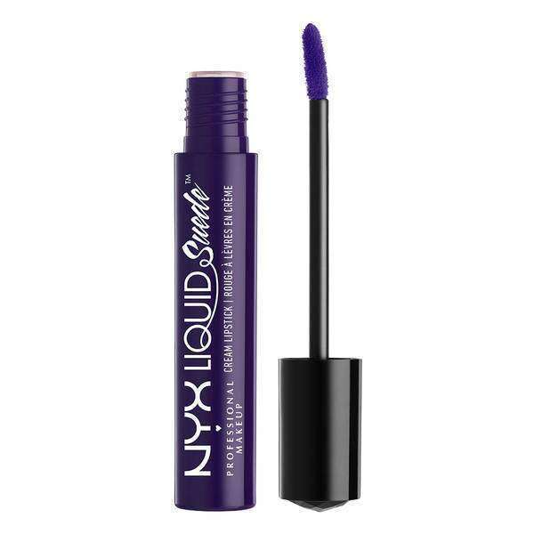 Liquid Suede Cream Lipstick Makeup NYX Professional Makeup Foul Mouth