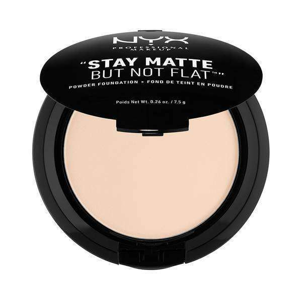 Stay Matte But Not Flat Powder Foundation Foundation NYX Professional Makeup Alabaster-