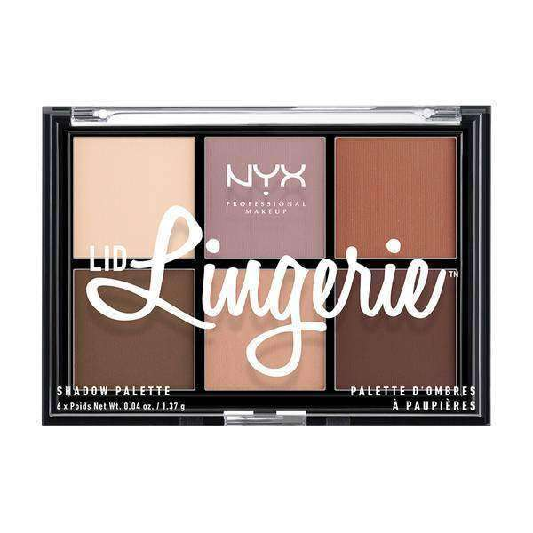 Lid Lingerie Shadow Palette Eyeshadow NYX Professional Makeup