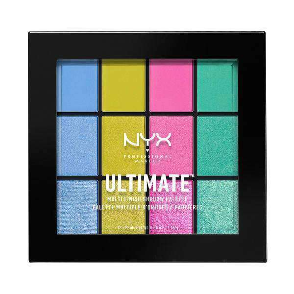 Ultimate Multi-Finish Shadow Palette Eyeshadow NYX Professional Makeup Electric