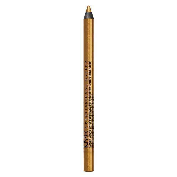 Slide On Glide On Eye Pencil pencil NYX Professional Makeup Glitzy Gold