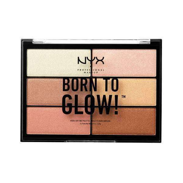 Born to Glow Highlighting Palette Highlighting Palette NYX Professional Makeup