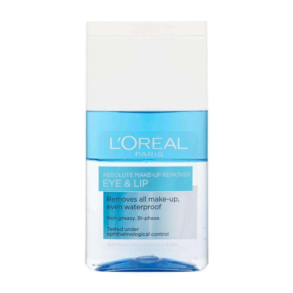 Waterproof Makeup Remover for Eyes and Lips Makeup Remover L'Oreal Paris