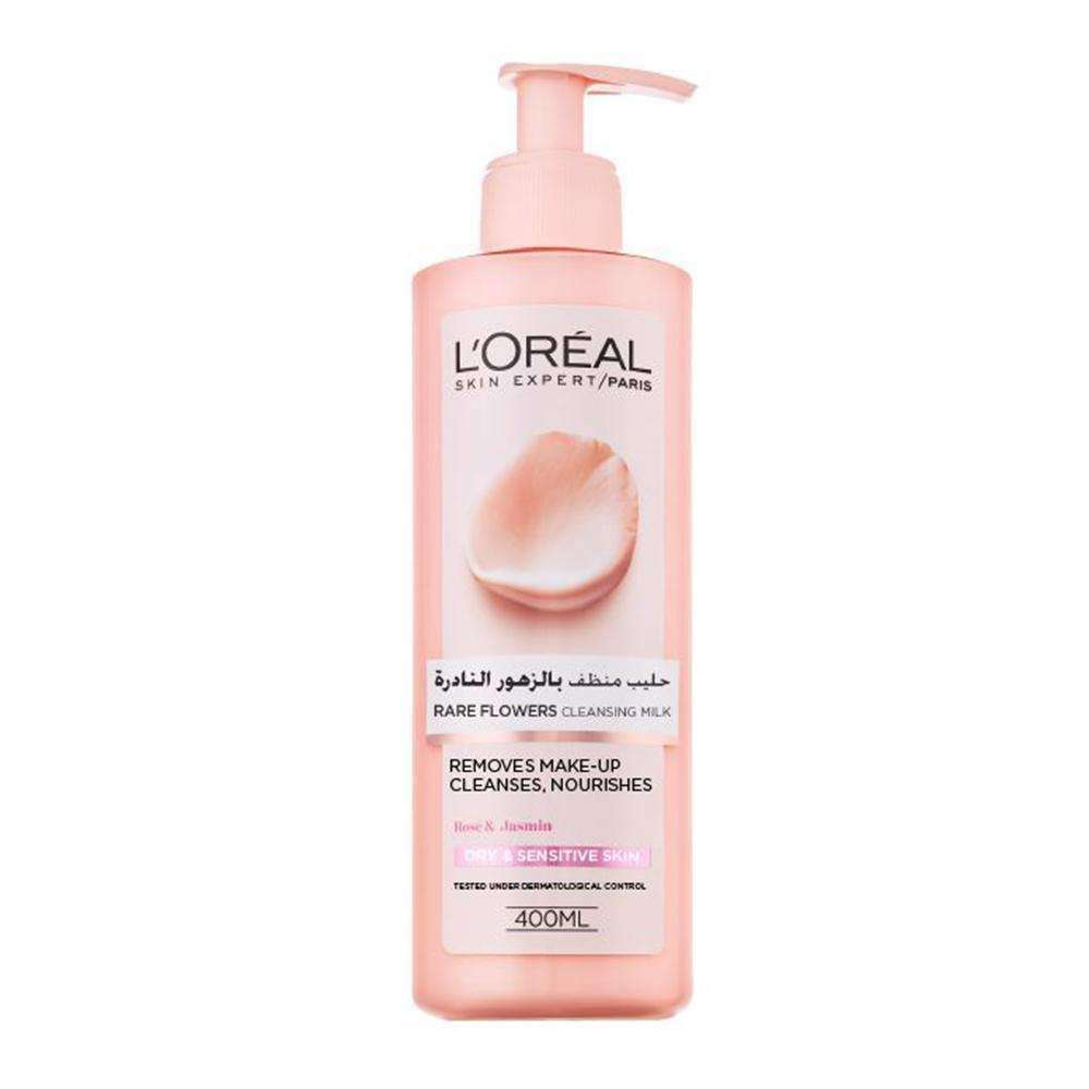 Rare Flowers - Cleansing Milk Cleansers & Toners L'Oreal Paris