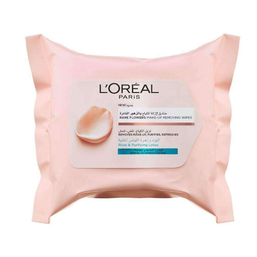 Rare Flowers - Cleansing Wipes Cleansers & Toners L'Oreal Paris