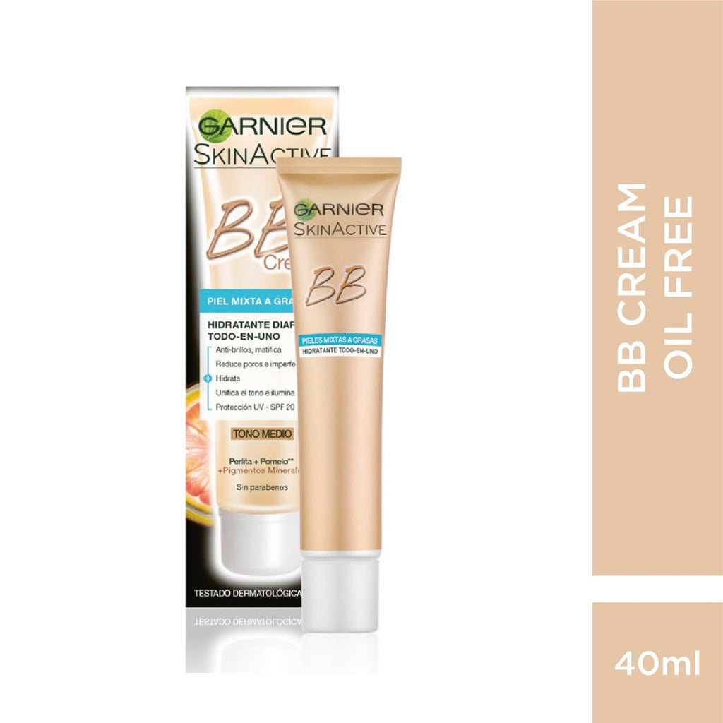 BB Cream Miracle Skin Perfector 5-IN-1 Daily Moisturizer New Formula 12H Oil Free