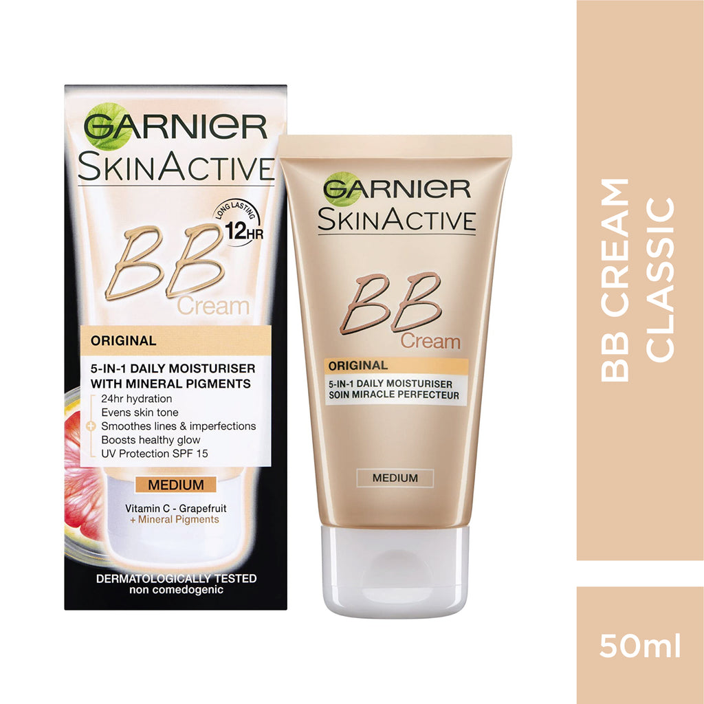 BB Cream Miracle Skin Perfector 5-IN-1 Daily Moisturizer New Formula 12H - Classic
