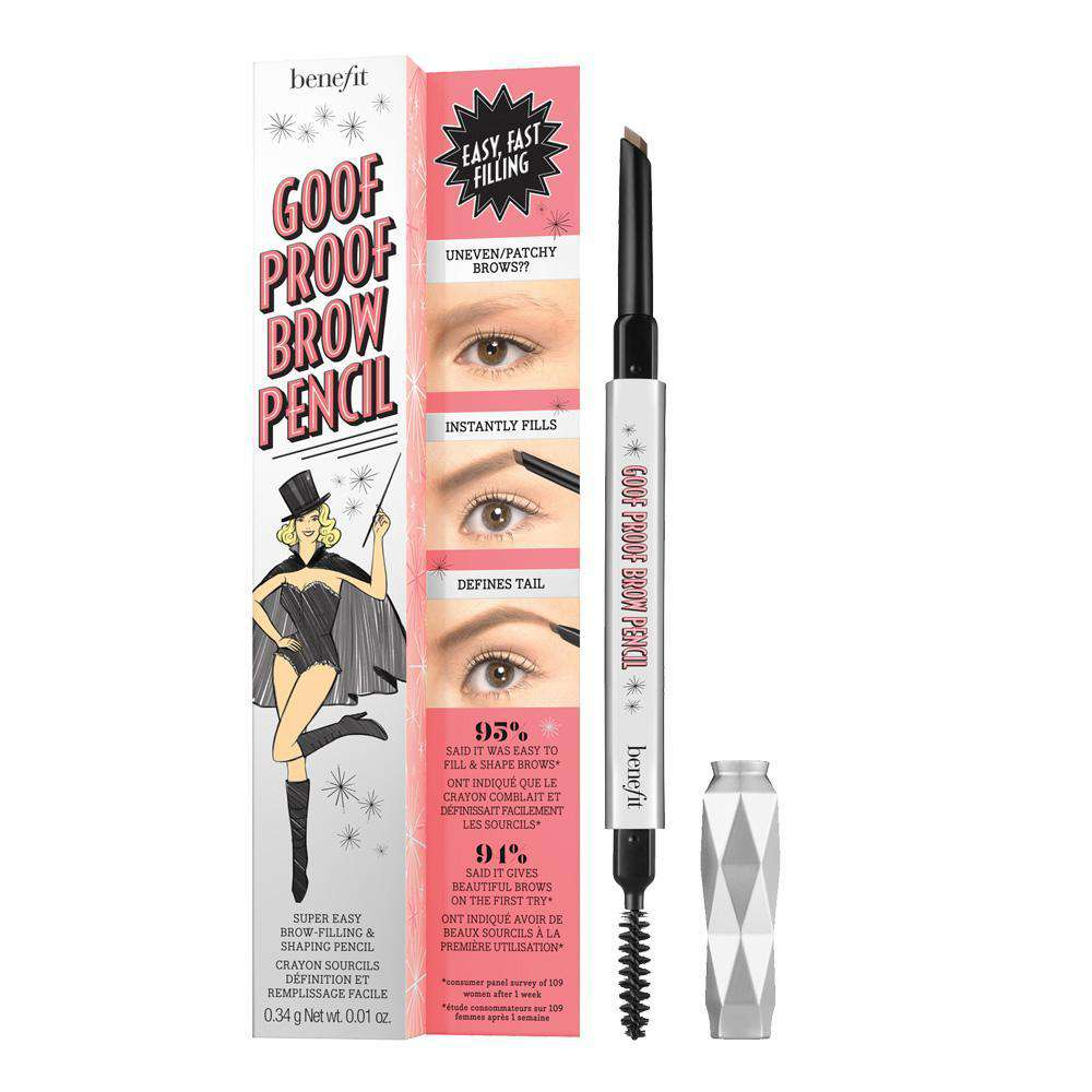 Goof Proof Super easy brow filling and shaping pencil Eyebrows Benefit Cosmetics 02 Light