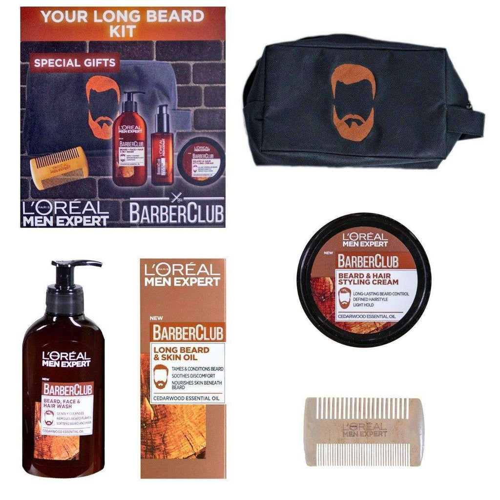 L'Oreal Men Expert Barber Club: Long Beard Kit Men's Kit L'Oreal Paris