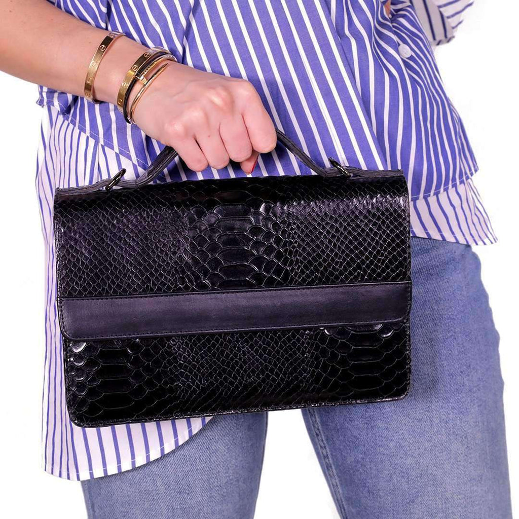 Crocodile Leather Bag Bags Tamara Farra