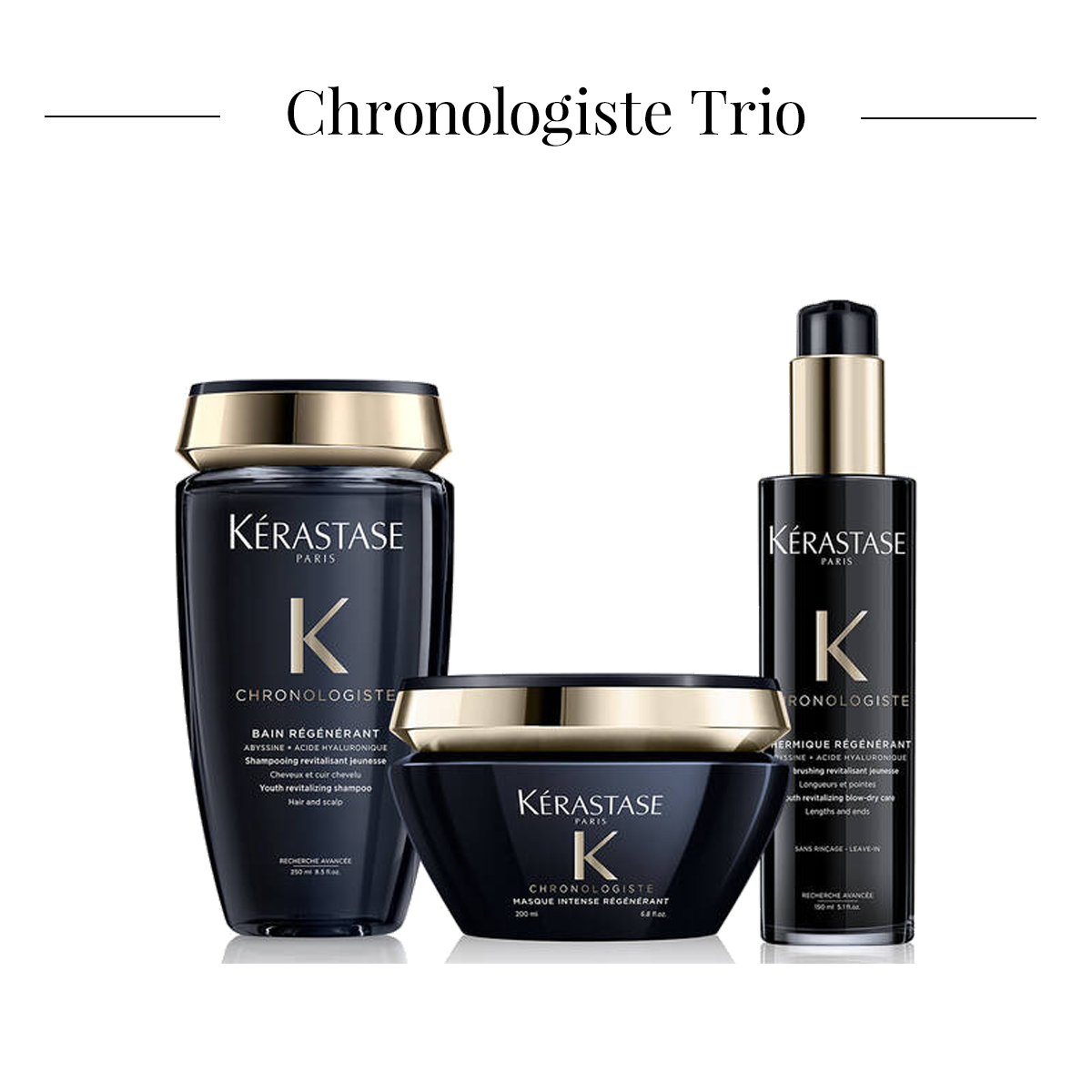 Kérastase Trio Chronologiste Bundle