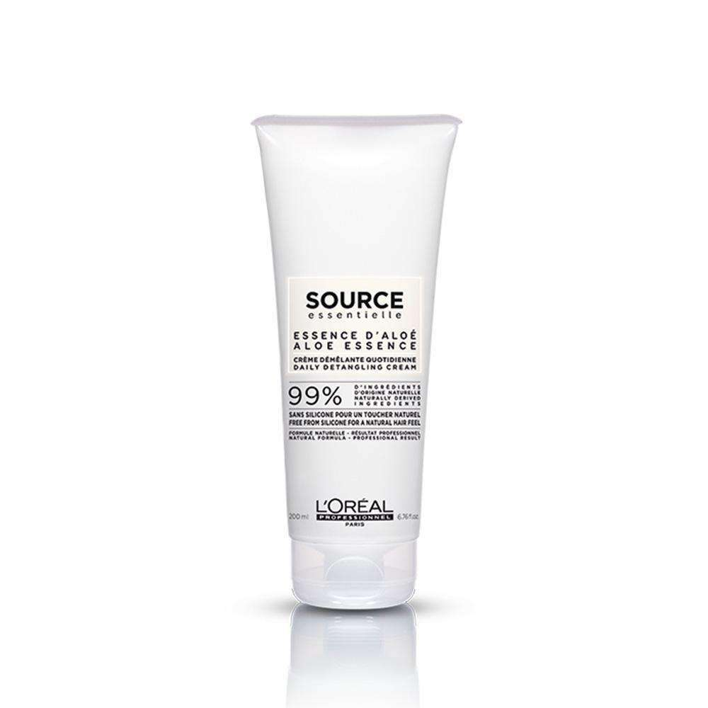 Source Essentielle Daily Detangling Cream Aloe Essence Conditioner L'Oréal Professionnel LC