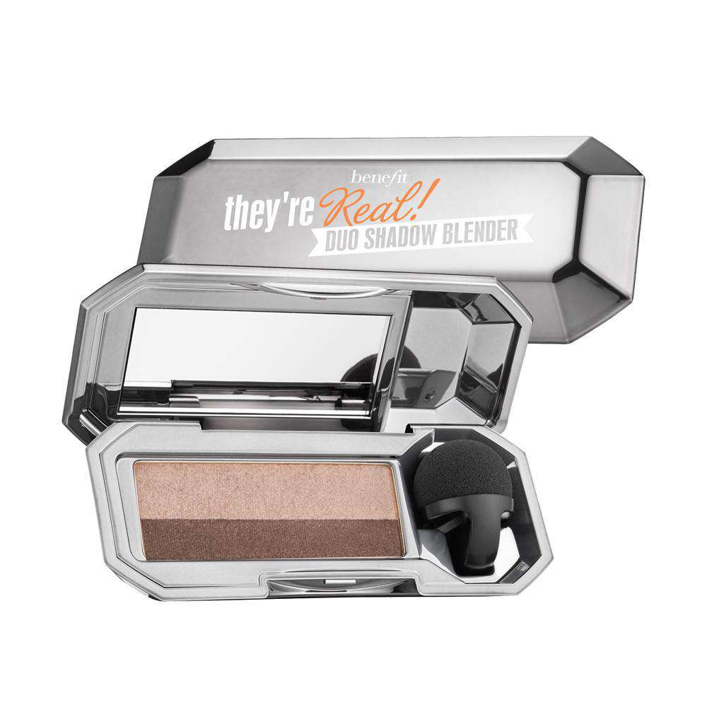 They're real! duo eyeshadow blender Eyeshadow Benefit Cosmetics Bombshell Brown