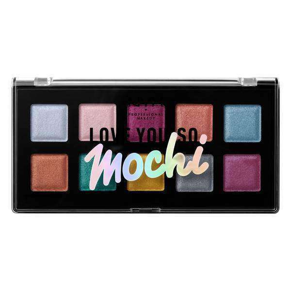 """Love You So Mochi"" Eyeshadow Palette Eyeshadow NYX Professional Makeup Electric Pastels"